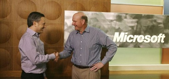 Yammer, Microsoft, David Sacks, Steve Ballmer, takeover