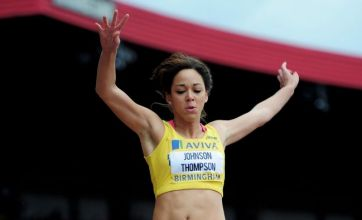 Katarina Johnson-Thompson: Jessica Ennis is my role model at London 2012