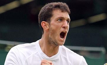 Wimbledon: Briton James Ward battles into second round after five-set thriller