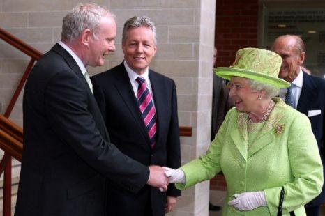 Queen, Martin McGuinness