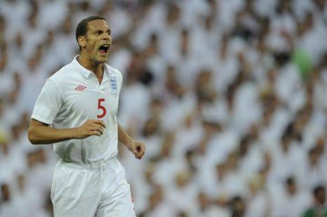 England Euro 2012 Rio Ferdinand