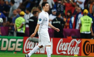 France midfielder Samir Nasri apologises for 'regretful' outburst