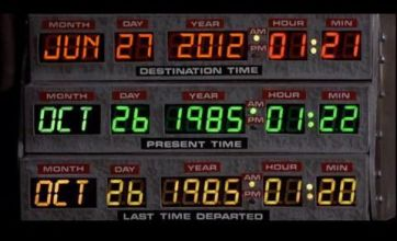 Back To The Future picture hoax confuses Twitter with wrong date