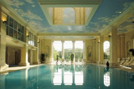 Relaxation central: Chewton Glen's indoor pool