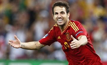 Cesc Fabregas' penalty 'ball-whispering' sends Spain through