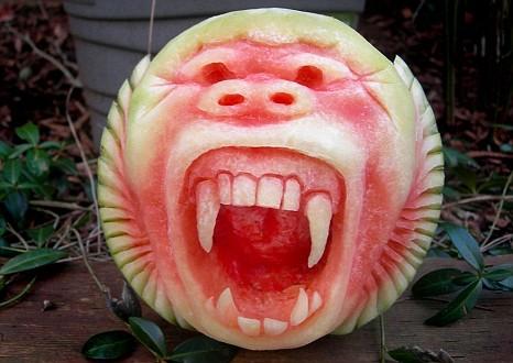 Clive Cooper, artist, watermelon