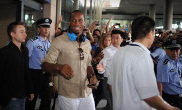 Didier Drogba fever hits Shanghai as ex-Chelsea striker arrives in China
