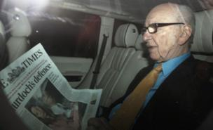 Rupert Murdoch has left New International's board (PA)