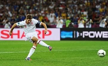 Steven Gerrard named in Euro 2012 team of the tournament