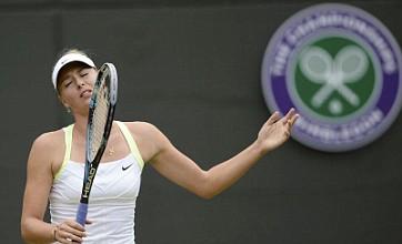 Maria Sharapova suffers surprise Wimbledon defeat to Sabine Lisicki