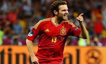 Spain name Euro winners Mata and Alba in London 2012 Olympic squad