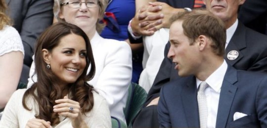 Prince William and Kate at Wimbledon