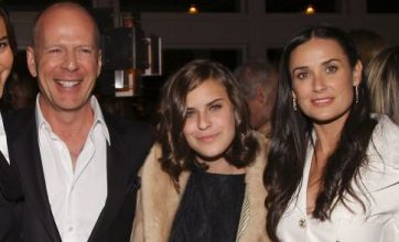 Bruce Willis and Demi Moore's daughter Tallulah in nude photo row