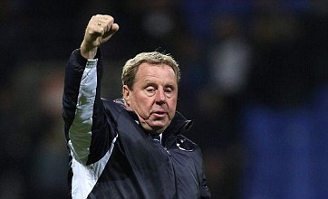 Harry Redknapp included on Russia's shortlist for new manager