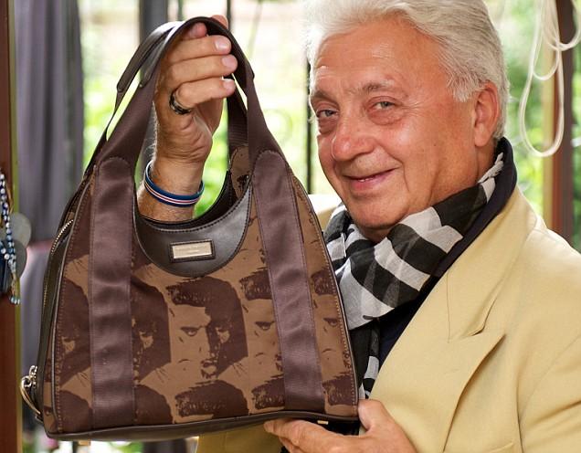Charity Shop handbag John Richards Philip Tracey