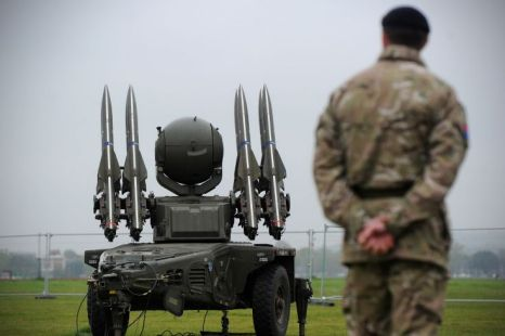 The myth of the Olympics air defences