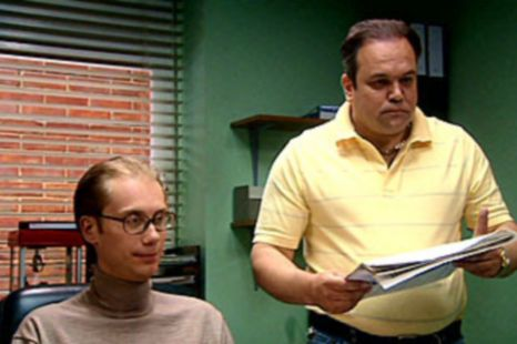 Shaun Williamson as Barry in Extras