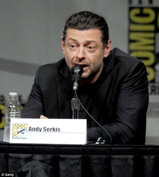 Andy Serkis has optioned the film rights to The Bone Season (Picture: Getty)