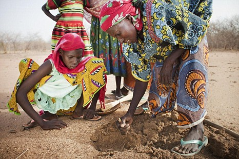Adoaga, Oxfam, famine
