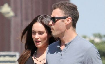 Megan Fox shows off baby bump as she celebrates Brian's 39th birthday