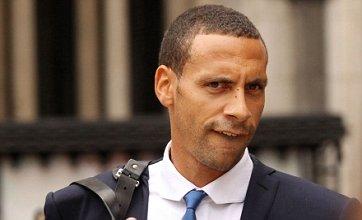 Police investigating Rio Ferdinand 'choc ice' tweet aimed at Ashley Cole