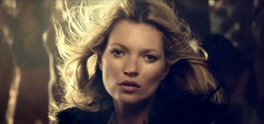 Kate Moss, George Michael, White Light video
