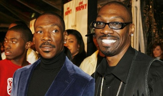 Actor Eddie Murphy and brother, screenwriter Charlie Murphy