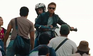 New Bourne Legacy clip sees Jeremy Renner in high-speed motorbike chase