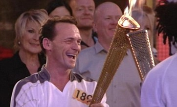 EastEnders' live torch relay was enormous fun if a tad shambolic