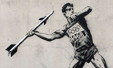 Banksy releases Olympic artwork as London gears up for the Games