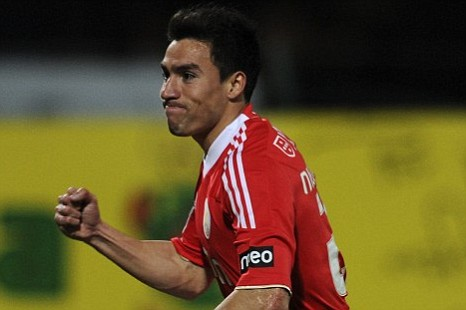 Benfica's forward Nicolas Gaitan