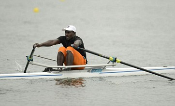 London 2012's 'Eric the eel' Hamadou Djibo Issaka fails to impress Sir Steve Redgrave