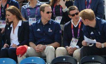 Kate Middleton and Prince William lead royal fan club for Zara Phillips