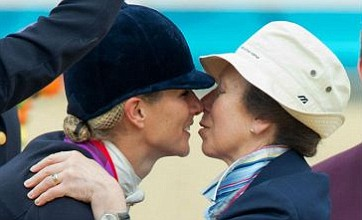 Zara Phillips becomes first royal Olympic medallist as Team GB take silver
