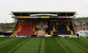 Police were worried about the potential for serious disorder at Sincil Bank (Getty Images)
