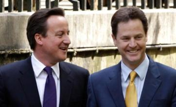 David Cameron and Nick Clegg head off for post-Olympics holidays