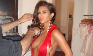 Kim Kardashian posts raunchy behind-the-scenes Playboy shoot pictures