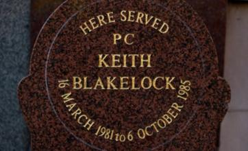 Suspect 'to be charged' in Pc Keith Blakelock murder case