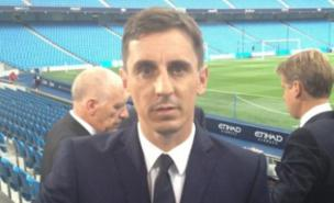 Gary Neville has adopted the TOWIE look for the new season (Twitter/@GNev2)