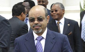 Ethiopian prime minister Meles Zenawi dies aged 57 after illness