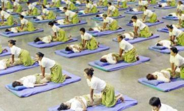 Mammoth mass massage sets new Guinness World Record in Thailand