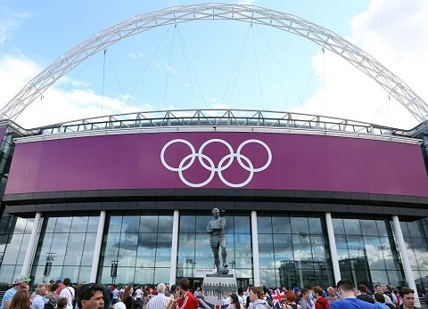 Olympic Review: Football at Wembley Stadium