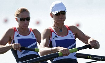 Helen Glover and Heather Stanning row to Team GB's first Olympic gold