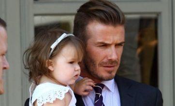 Daddy's girl Harper Beckham already owns her own Damien Hirst artwork