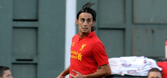 Alberto Aquilani of Liverpool
