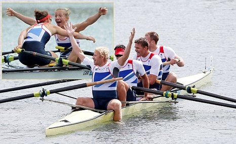 Team GB double gold medal in rowing Super Saturday