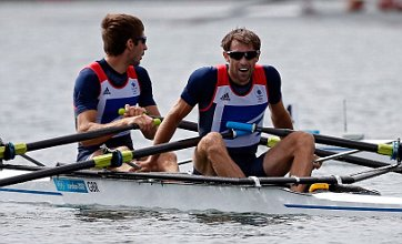 Team GB rowers settle for silver in double sculls after dramatic restart