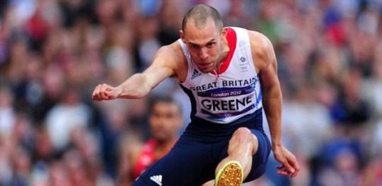Dai Greene 400m hurdles