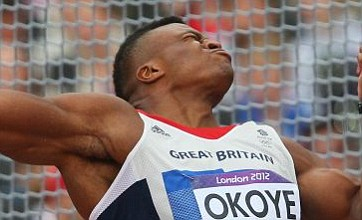 Lawrence Okoye keeps his discus medal hopes alive by reaching final