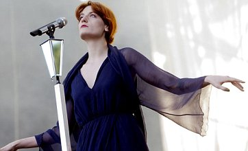 Florence Welch admits she struggles to control her tears on tour